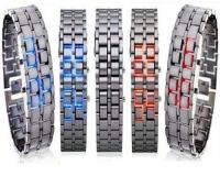 ساعت  LED سامورایی استیل مدل Iron Samurai