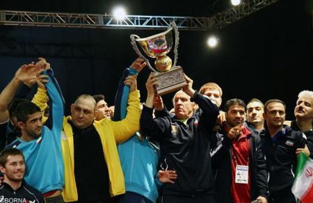 مسابقات جام جهانی کشتی آزاد –آمریکا(ایران و آمریکا)