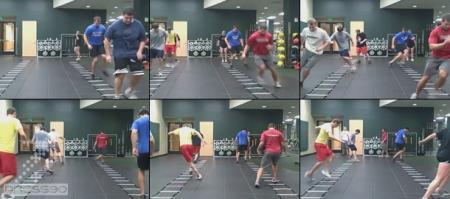 تمرینات سرعتی در فوتبال  SPEED FOTBALL