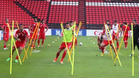تمرینات تیم های ملی در جام جهانی(گرم کردن 24 تیم جام جهانی )