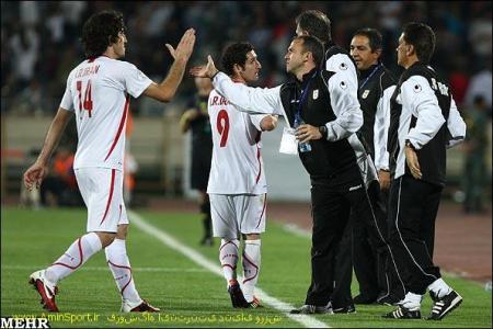 مسابقه فوتبال  ایران و بحرین (مقدماتی جام جهانی 2014)
