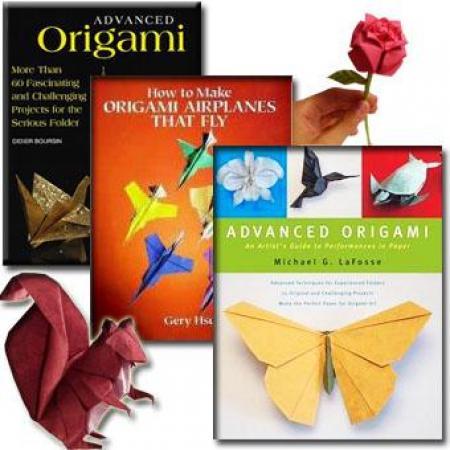 آموزش ساخت گلها و حیوانات کاغذی آسان و پیشرفته