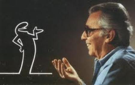 انیمیشن زیبای آقای خط