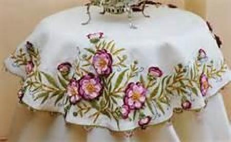 آموزش فارسی روبان دوزی ( هنر زیبا ) به صورت تصویری