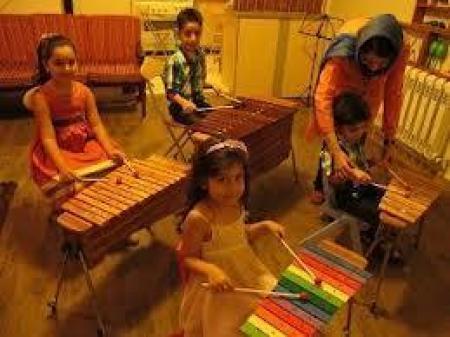 آموزش جامع تصویری ساز ارف کودکان
