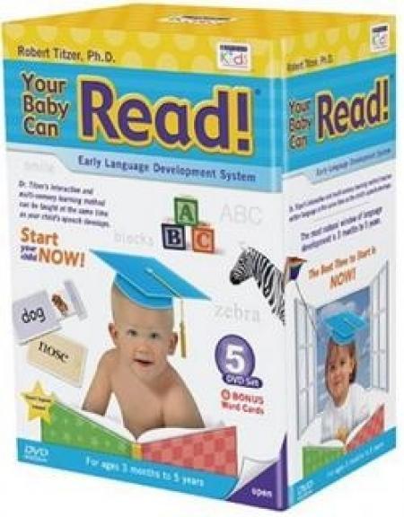 آموزش زبان کودک Your baby can read