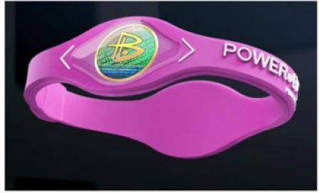 دستبند پاوربالانس به رنگ صورتی - اصل و اورجینال - بهترین کیفیت