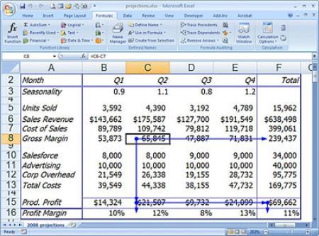 آموزش پیشرفته توابع و فرمول های اکسل 2007