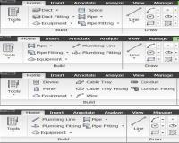 نرم افزار طراحی و ترسیم نقشه های مکانیکی و لوله کشی AutoCAD MEP 2010