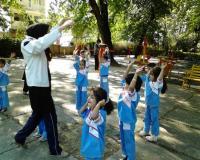 آموزش حرکات ورزشی و نرمش برای کودکان