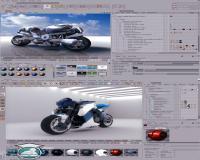 مدل سازی انیمیشن سازی و رندر به کمک Cinema 4D 11.5