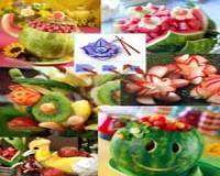 آموزش فارسی سفره آرایی و میوه آرایی