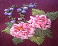 مجموعه آموزش گلهای روبانی