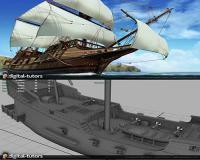 آموزش کامل و کاربردی مدل سازی یک کشتی بسیار زیبا و با جزئیات فراوان