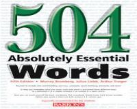 کتاب 504 words بهمراه تمام فایل های صوتی