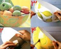 آموزش نقاشی روی پارچه و ظروف