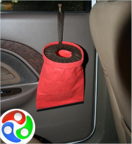 سطل زباله خودرو دولایه 10 عددی