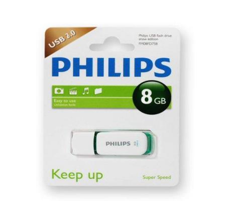 فلش 8 گیگ philips -فیلیپس-(گارانتی)