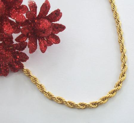 زنجیراستیل طلایی