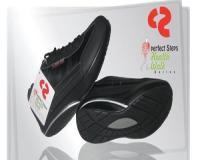 کفش perfect steps مشکی مدل 2014 سری | کفش لاغری پرفکت استپس 2014 هلز واک مشکی