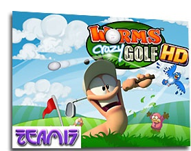 بازی Worms  Crazy Golf