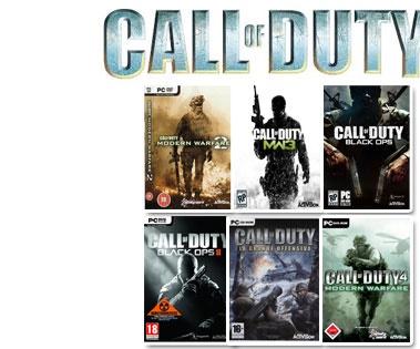 مجموعه ندای وظیفه 1،2،4،5- Call of Duty
