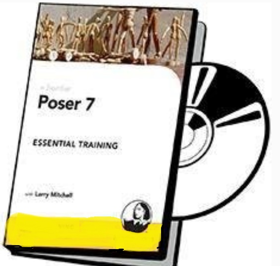 آموزش کاربردی ساخت کاراکترهای سه بعدی-Poser 7
