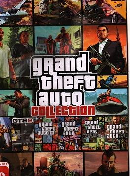 مجموعه تمام نسخه های GTA