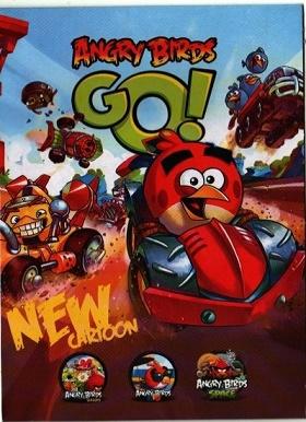 انیمیشن ANGRY BIRDS: GO