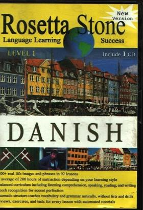 اموزش زبان دانمارکی با Rosetta Stone