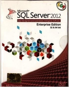نرم افزار  Microsoft SQL Server 2012 Enterprise x86/x64