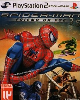 بازی Spider-Man Friend Or Foe3.5- PS 2