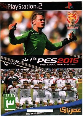 بازی پلی استیشن2: PES2015 جام ملتهای آسیا