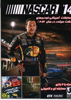 بازی NASCAR 14مسابقات آمریکایی+2بازی مسابقه ای و کامیونی