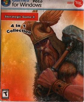 مجموعه 4 بازی فکری و جنگی