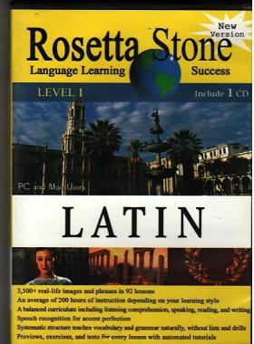 آموزش زبان لاتین با روش :رزتا استون