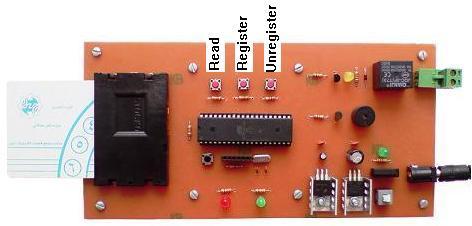قفل رمز با کارت تلفن