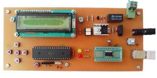 کنترل DC موتور با کامپیوتر از طریق پورت USB