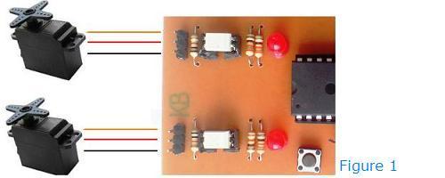 کنترل سروو موتور با قابلیت زمان بندی