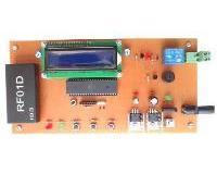 قفل رمز RFID با نمایشگر LCD کاراکتری
