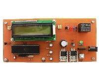 کنترل دما با نمایشگر LCD کاراکتری