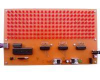 تابلو روان 8*24 با LED ، تغییر متن با کیبورد کامپیوتر PS2
