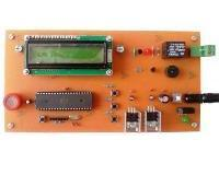 هشدار دهنده نشت گاز با نمایشگر LCD کاراکتری