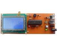 توضيحات ماشین حساب و دماسنج با نمایشگر LCD گرافیکی و تاچ اسکرین