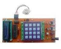 توضيحات کنترل استپ موتور با کیپد