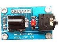 آشکار ساز مادون قرمز RC5 با خروجی سریال