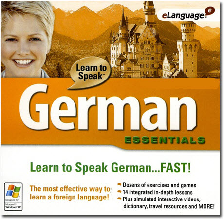 نرم افزار آموزش زبان آلمانی Learn to Speak German Deluxe 9.5