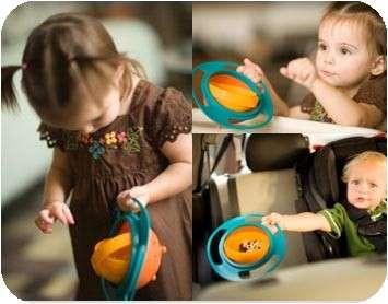 خرید ظرف غذای کودک اصل Universal Gyro Bowl