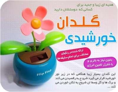 توضيحات خرید گلدان خورشیدی