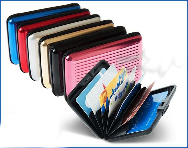 توضيحات کیف محافظ کارت آلومینیومی آلوما والت